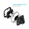 New Lightweight 4PCS Magnetic Universal Air Vent Phone Holder Mount For Most Smartphones
