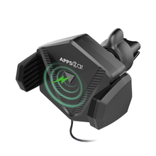 APPS2Car Qi Standard Wireless Charging Air Vent Mount