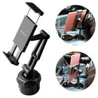 Car Universal Adjustable Gooseneck Portable Cup Holder Car Mount For Iphone